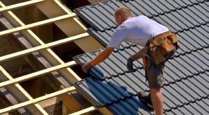 HWK Weiterbildung Dachdeckung Schiefer Dachplatten